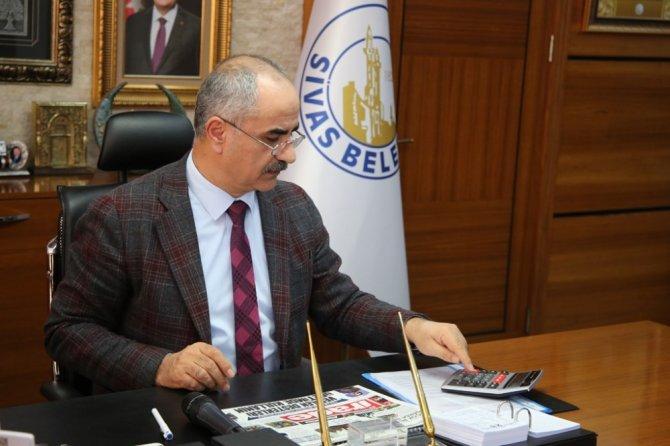 """Başkan Aydın: """"İller Bankası'na borcumuz 13 milyon lira"""""""