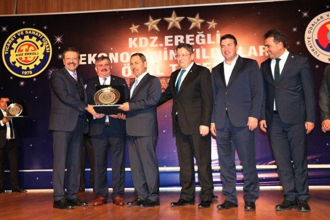 Hisarcıklıoğlu, Yaşar Tetiker Bulvarı ve konferans salonunu açtı