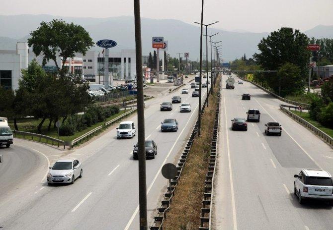 Sakarya'da trafikteki araç sayısı 280 bin 965'e ulaştı