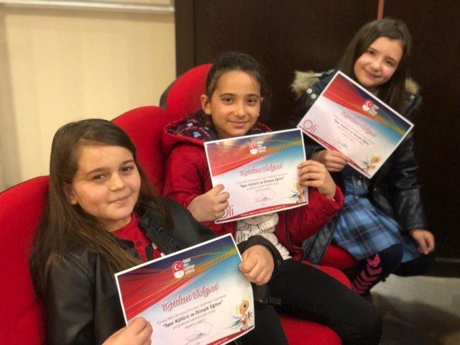 Olimpiyat Komitesi'nden öğrencilere seminer