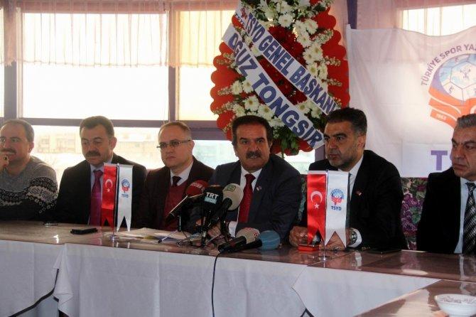 TSYD Sivas Şubesi'nde genel kurul heyecanı