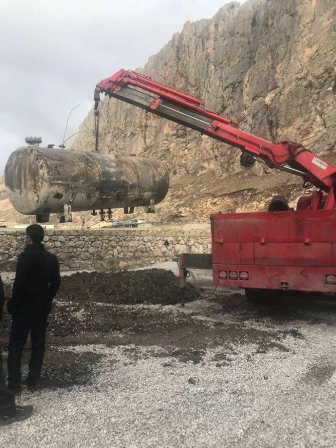 Van'da kaçak akaryakıt operasyonu 1 Mart 2018