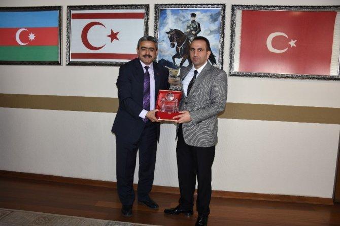 Kaymakam Çelik'ten Başkan Alıcık'a veda ziyareti