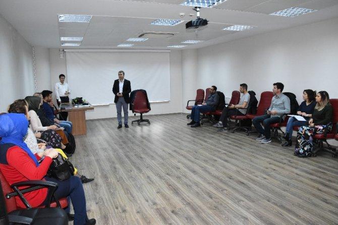 Adıyaman Üniversitesinde TÜBİTAK proje hazırlama eğitimi