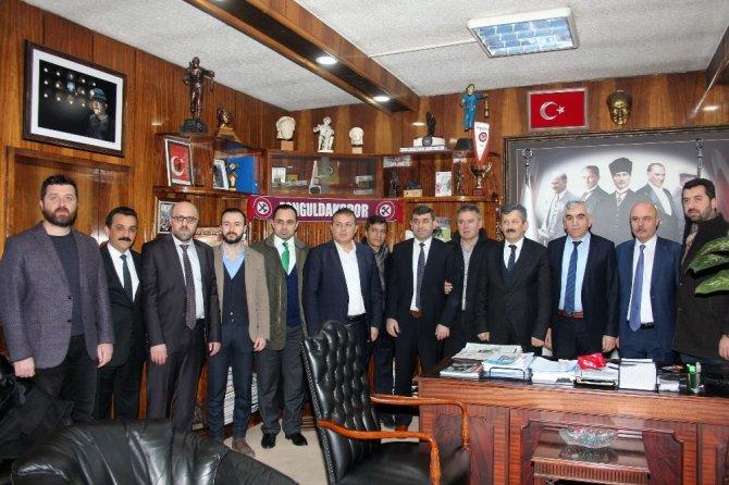 AK Parti il yönetimi, GMİS'i ziyaret etti
