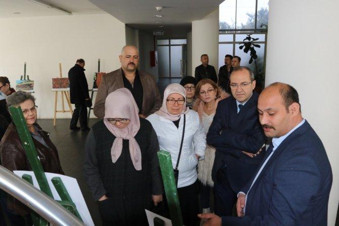Akhisar'da Taştaki Türkler sergisi açıldı