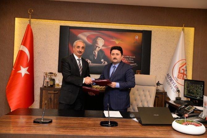 Altıeylül Belediyesi, İŞKUR ile protokol imzalandı