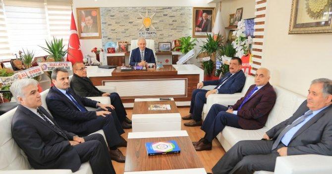 Başkan Gürkan'dan, Kahtalı'ya hayırlı olsun ziyareti