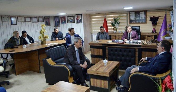 Didim Kaymakamı Türköz'den esnaf örgütlerine tebrik ziyareti