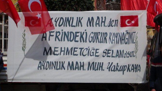 Afrin'deki Mehmetçik için mevlit okutuldu