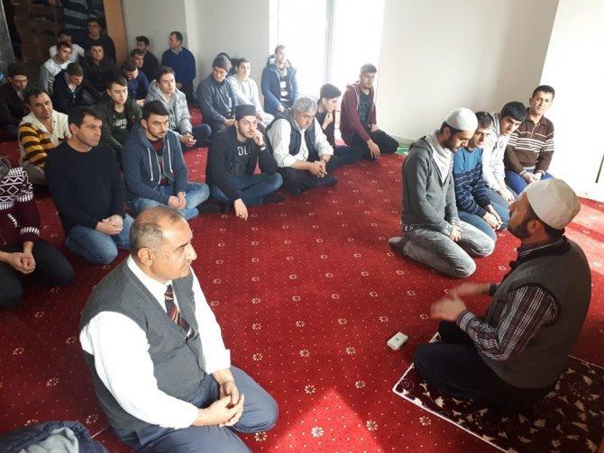 Isparta KYK'da Afrin'deki Mehmetçik ve şehitler için dua