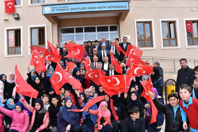 """Başkan Akyürek: """"Lider ülke Türkiye mücadelesine en büyük destek veren şehiriz"""""""
