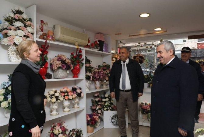 Başkan Baran, Hereke'yi ziyaret etti