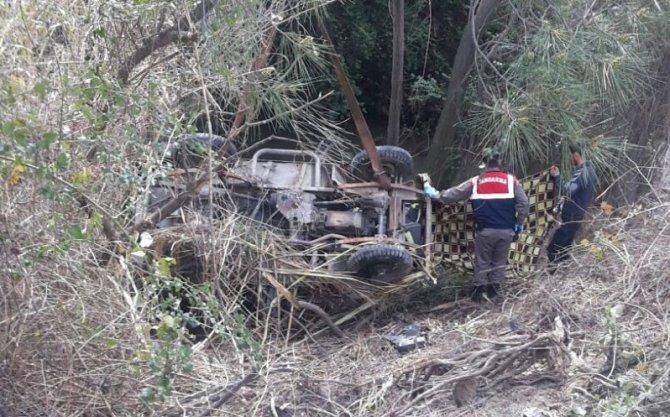 Milas'ta muhtar kazada hayatını kaybetti