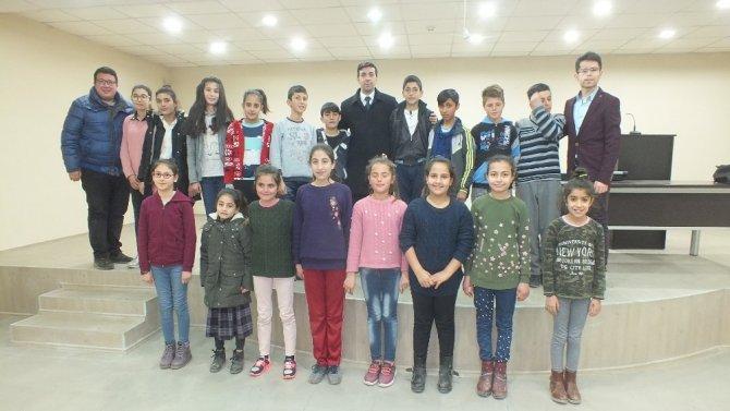 Malazgirt Belediye Çocuk Korosu kuruldu