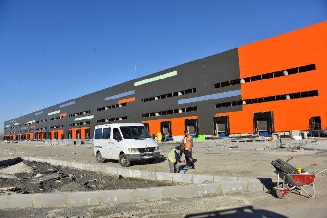 Samsun Lojistik Merkezinde depolar kiralanmaya başlandı