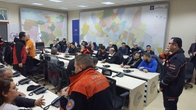 STK temsilcilerine afet semineri