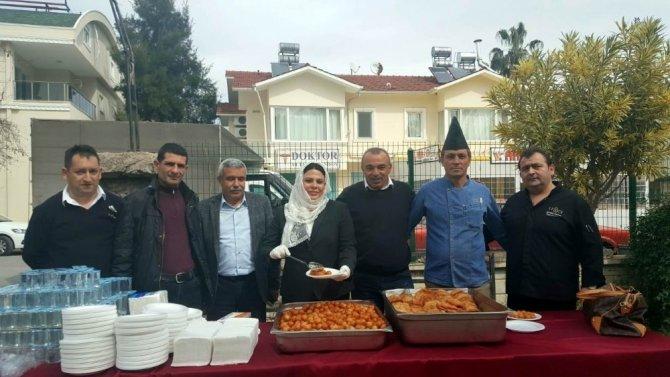 Turizmci Afrin şehitleri için mevlit okuttu