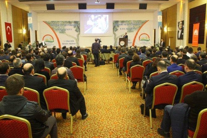 Balıkesir 'Zeytin ve Zeytinyağı Çalıştayı'na ev sahipliği yapıyor