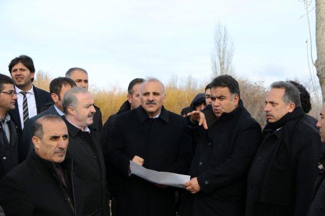 Vali Zorluoğlu, arıtma tesisinde incelemelerde bulundu