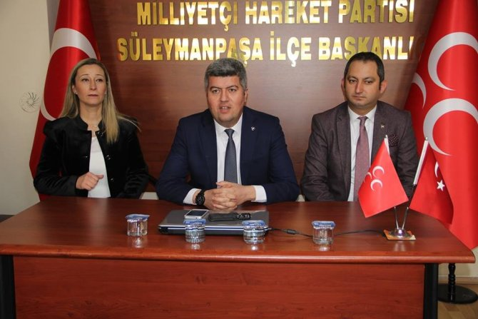 "MHP Tekirdağ İl Başkanı Önsel: ""Gün birlik günüdür"""