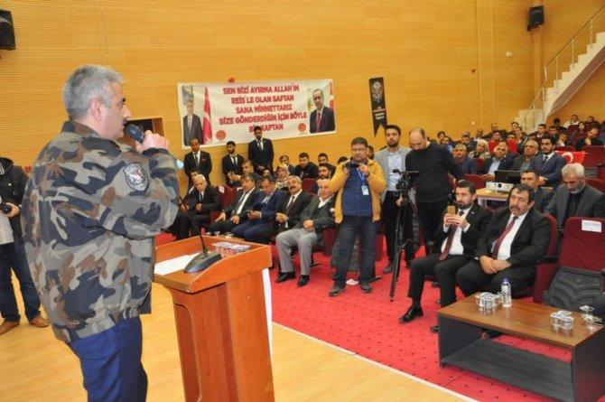 Irak Türkmen Cephesi Milletvekilinden Ceylanpınar'a ziyaret