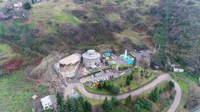 Trabzon'da tartışmalara konu olan inşaat yeniden başlıyor