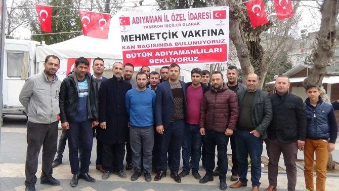 İl Özel İdaresi işçileri kan bağışında bulundu