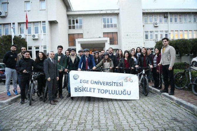 Ege'li öğrenciler kendi bisikletlerini tasarladı