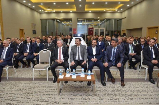 Erzincan da şeker fabrikası için ortak çözüm arayışına gidildi