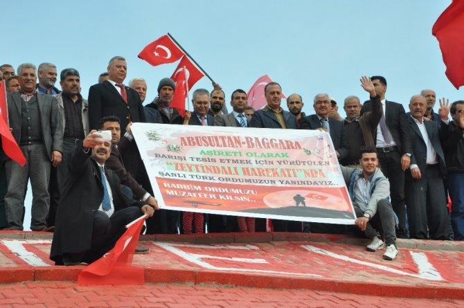 Abusultan Baggara aşiretinden Mehmetçik'e destek konvoyu