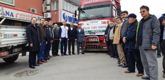 Hayrat Yardım'ın İzmir temsilciği açıldı