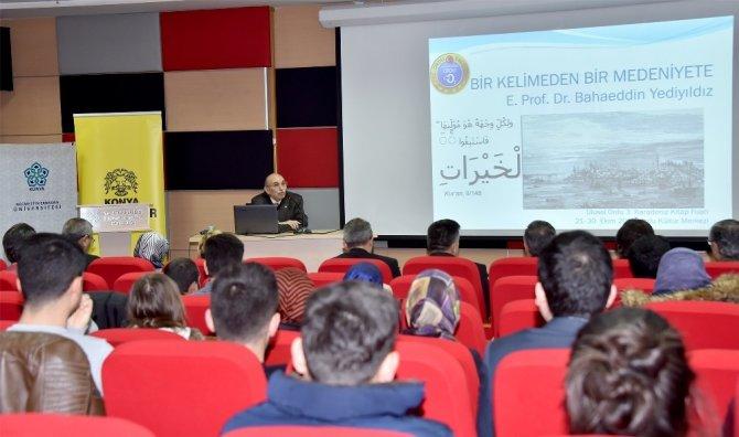 """Konya'da """"Türk-İslam Medeniyetinde Vakıflar"""" konferansı"""