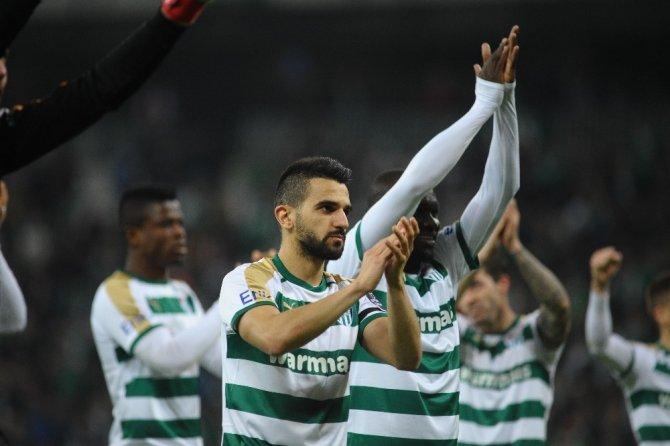 Bursaspor 84 gün sonra nefes aldı