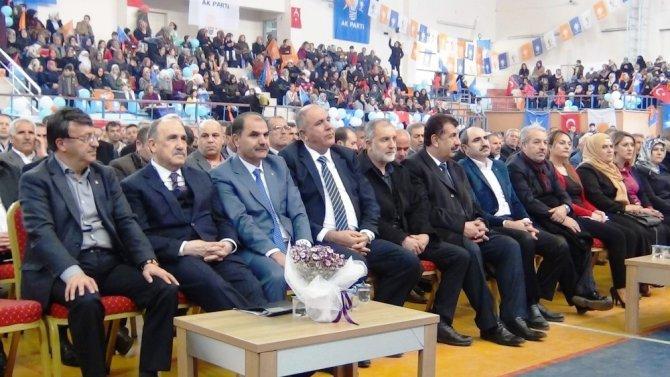 AK Parti Erciş İlçe Başkanlığı Görevine Yeniden Adnan Aydın Seçildi