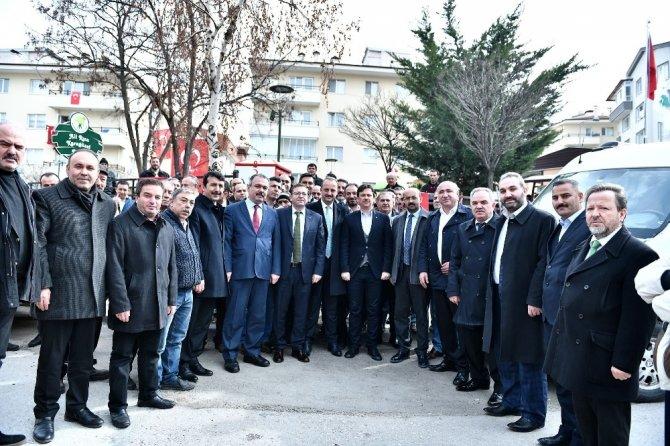 Mamak'ta Afrin Şehitleri için mevlit okutuldu
