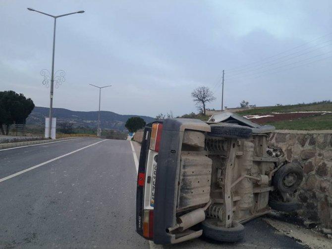 Selendi'de trafik kazası: 1 yaralı