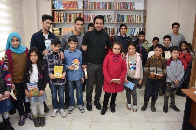 Şehit Murat Yılmaz Bilgi Evinde okuma etkinliği