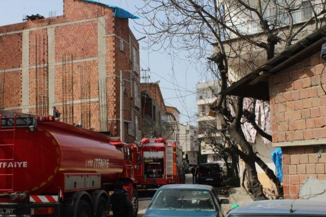 Aynı binada ikinci yangın