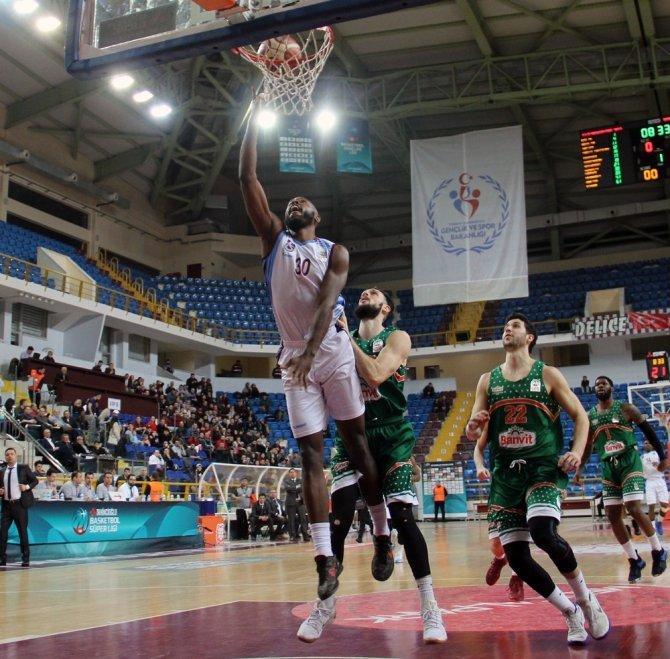 Tahincioğlu Basketbol Ligi: Trabzonspor: 88 - Banvit: 84
