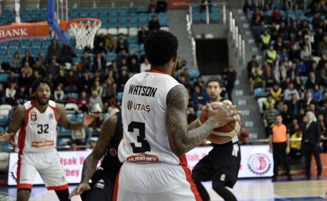 Tahincioğlu Basketbol Süper Ligi: Muratbey Uşak: 65 - Beşiktaş Sompo Japan: 75