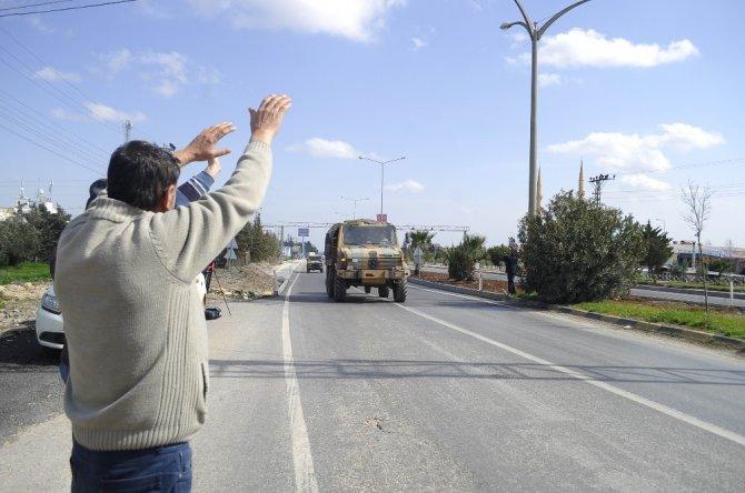 Mehmetçik Afrin'a uğurlandı