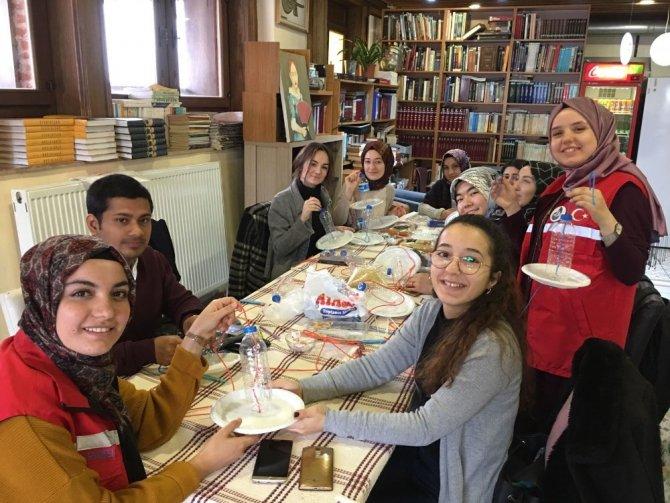 Damla gönüllülerinden Afrin'e mektup