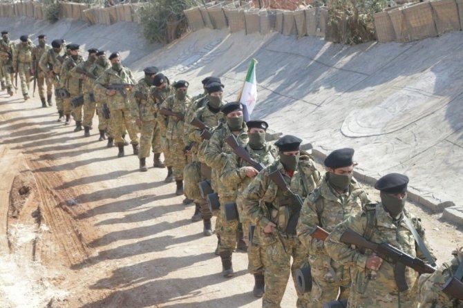 Raco operasyonuna katılan Hamza Tümeni fotoğraf paylaştı