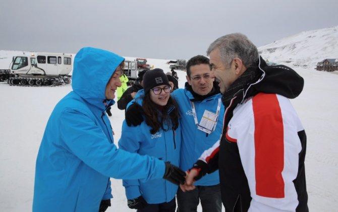 Dünya şampiyonlarını Erciyes belirledi