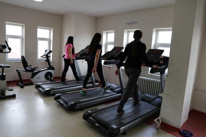 Varto'da açılan spor merkezine kadınlardan yoğun ilgi