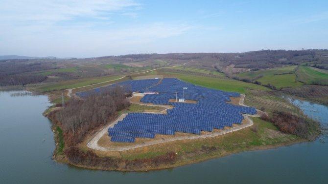 Kocaeli'de kurulan GES'ten 4 milyon 460 bin megawatt enerji sağlayacak