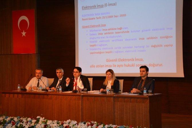 GAİB'te Devlet Destekleri Müracaatında KEP sitemi anlatıldı