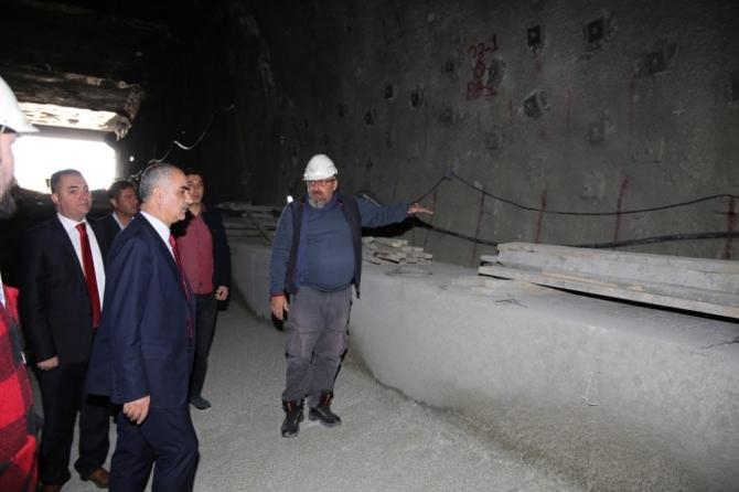 Mevlana Tüneli'nde ikinci tüpte ışığa 50 metre