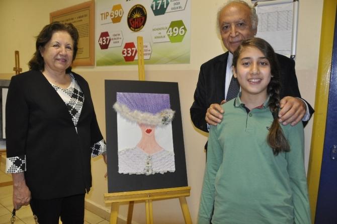 GKV'li Nurhan Karaca'nın resim sergisi heyecanı